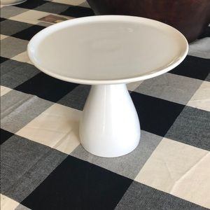 Pottery Barn small cake stand